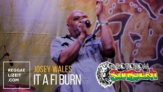 Josey Wales - It A Fi Burn @ Rototom Sunsplash 2015