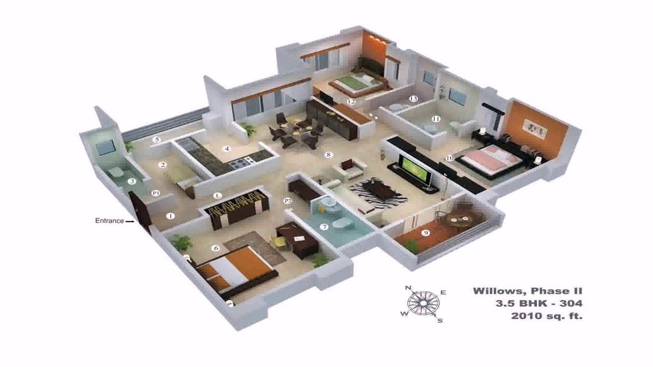 6 Bedroom Duplex House Plans In Nigeria   YouTube 6 Bedroom Duplex House Plans In Nigeria