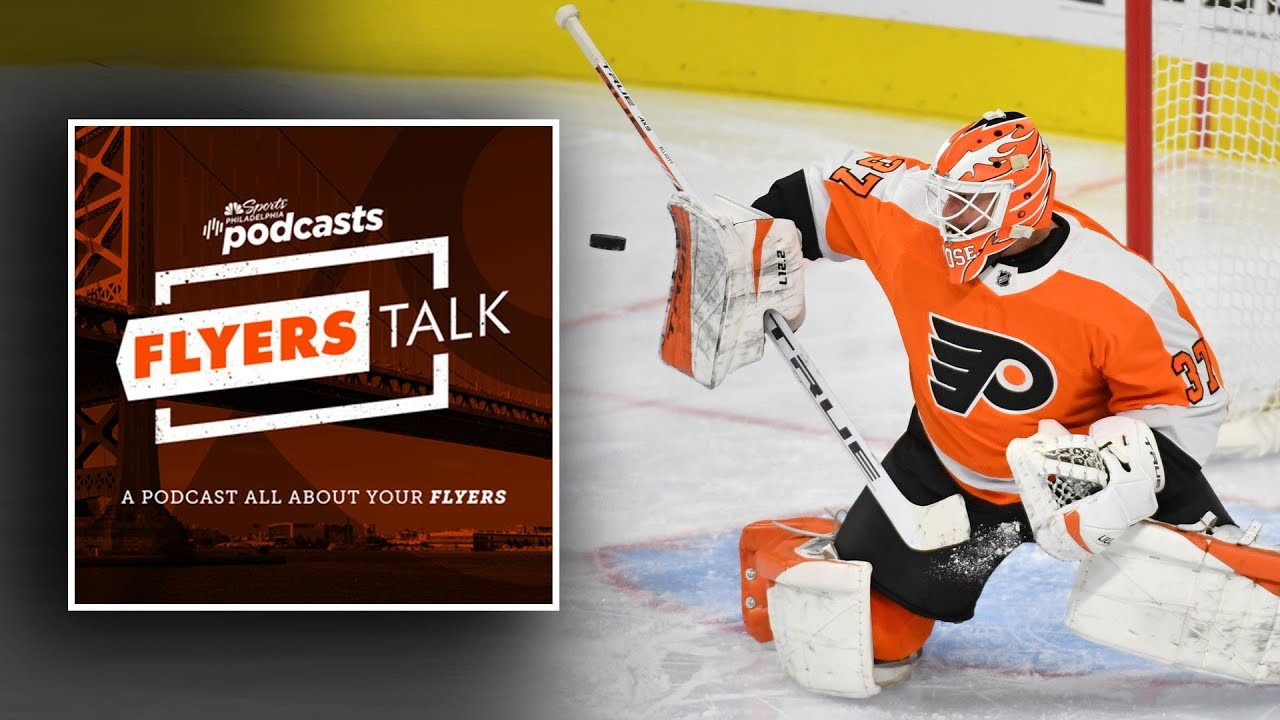 Brian Elliott has 40-save shutout but Flyers still have questions | Flyers Talk Podcast