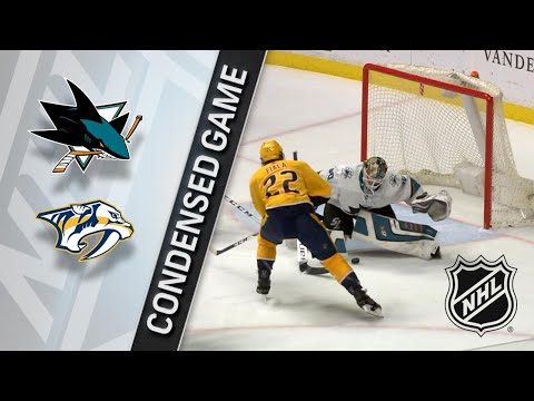 02/22/18 Condensed Game: Sharks @ Predators