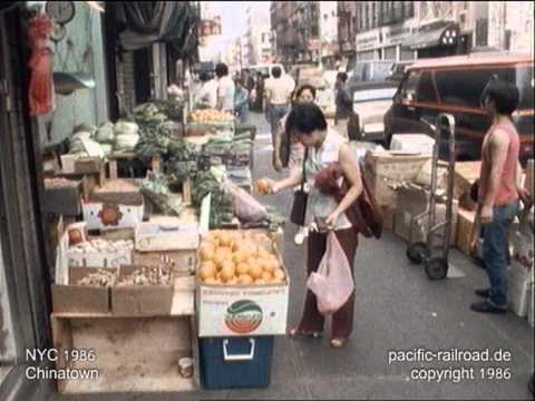 Nyc Chinatown 1986 Original Footage Mpg Youtube
