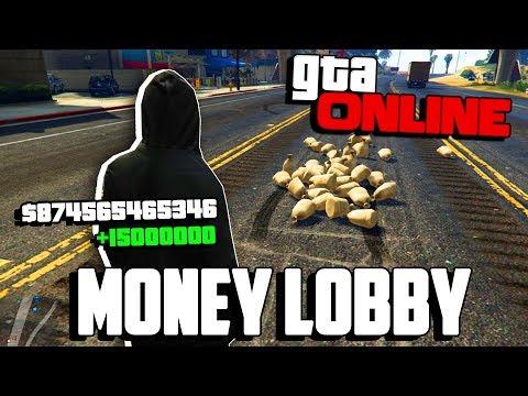 💰 FREE MONEY LOBBY GTA 5 ONLINE! 2019 LIVE!