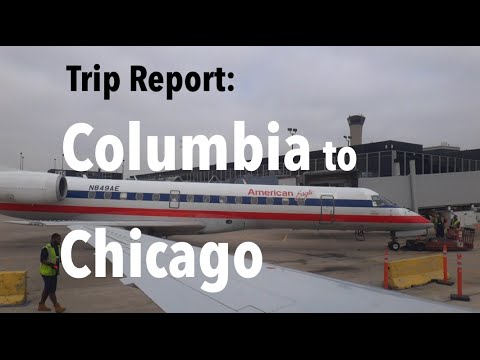 TRIP REPORT - American Airlines, Columbia (COU) to Chicago (