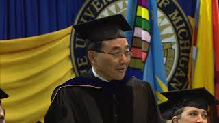 Cover images University of Michigan College of Engineering Commencement - 5/7/19