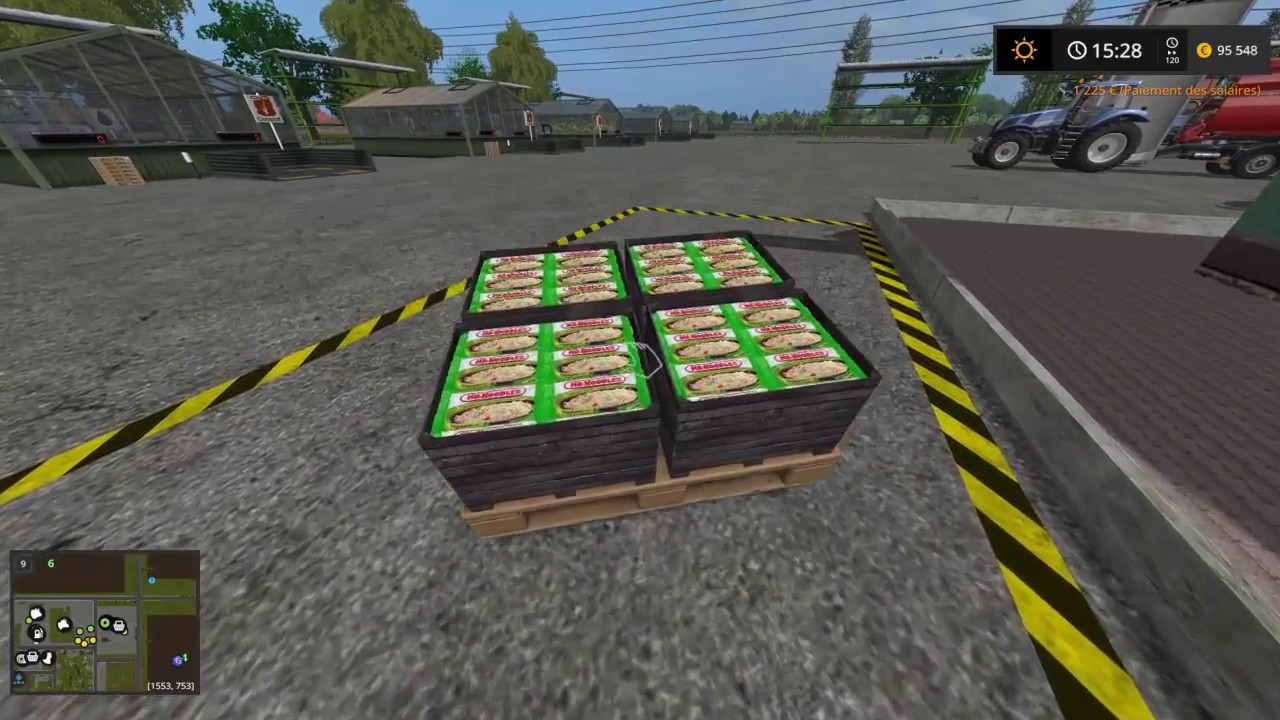 FS17 Map Canadian National 3 usine a nouille