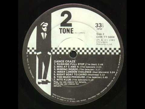 One Step Beyond Live - Madness -Dance Craze 1981