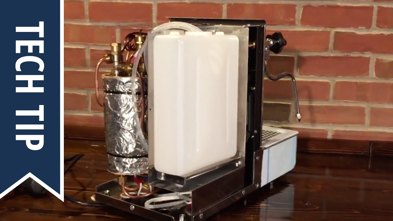 Expobar Espresso Machine Pump Runs Continuously Water Level Sensor Mains Pulser