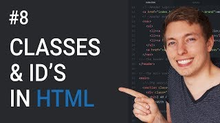 8: Introduction to Classes and IDs in HTML | Learn HTML and CSS | HTML Tutorial