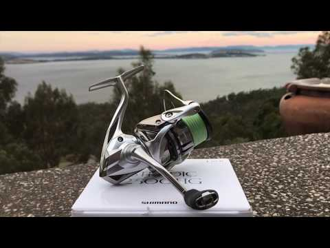 SHIMANO STRADIC 2500 FL 2019 REVIEW AND TEST