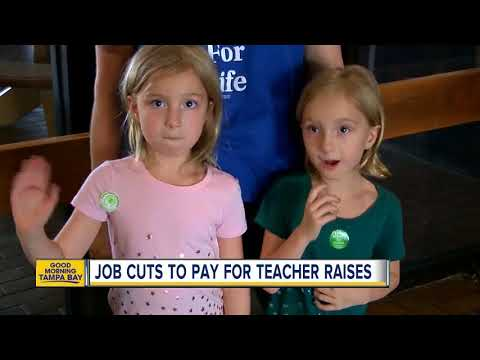 Teacher raises might mean staff reductions