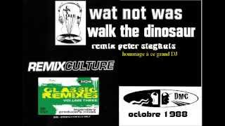 "WAS NOT WAS walk the dinosaur ""dmc remix """