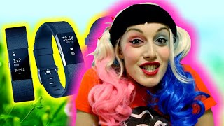 FitBit Charge 2 REVIEW by Harley Quinn
