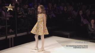 Показ    PODIUM KIDS, St Petersburg Fashion Week, Осень Зима  2016 17