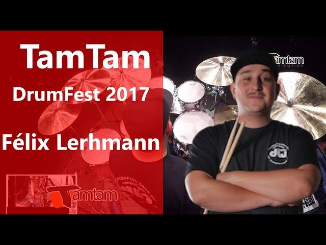 Félix Lerhmann - TamTam DrumFest Sevilla 2017 Gewa Music