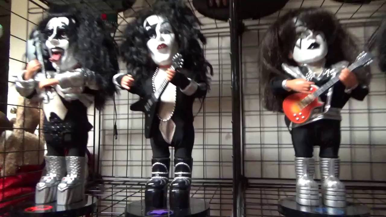 Gemmy Animated  Kiss Band Soundalikes   OLD VIDEO    YouTube Gemmy Animated  Kiss Band Soundalikes   OLD VIDEO