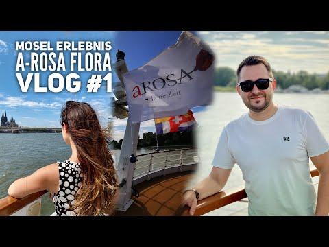 Mosel Kreuzfahrt mit Arosa Flora Vlog# 1: Erste Reise nach Corona