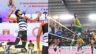Ajith lal, Shone, Raheem, kerala vs Punjab, Set 5, Fedaretion cup volleyball 2018, life of volley