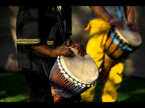 African Drum Music - YouTube