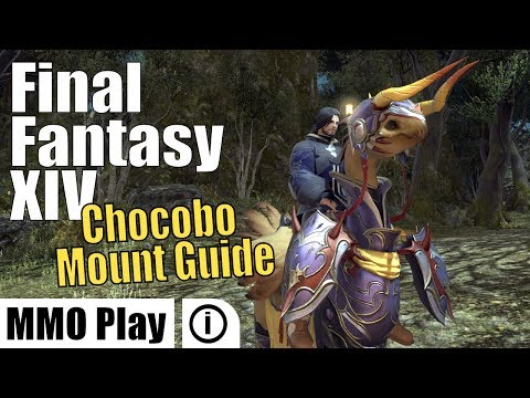 FINAL FANTASY XIV All Beast Tribe Mounts 5/16 | FunnyCat TV