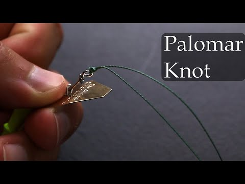 How To Tie A Fishing Knot: Palomar Knot