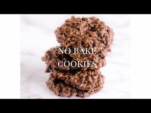 No Bake Cookies Recipe - Chocolate Oatmeal Peanut Butter Cookies
