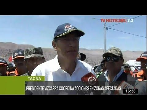 Reubicación de Mirave se decidirá con pobladores, garantiza Vizcarra