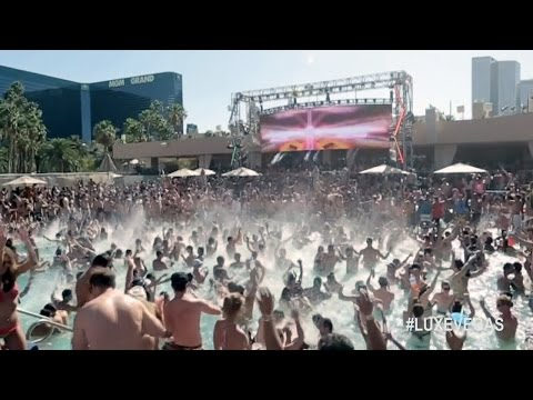 WATCH: The Hottest #LUXEVEGAS Pool Parties