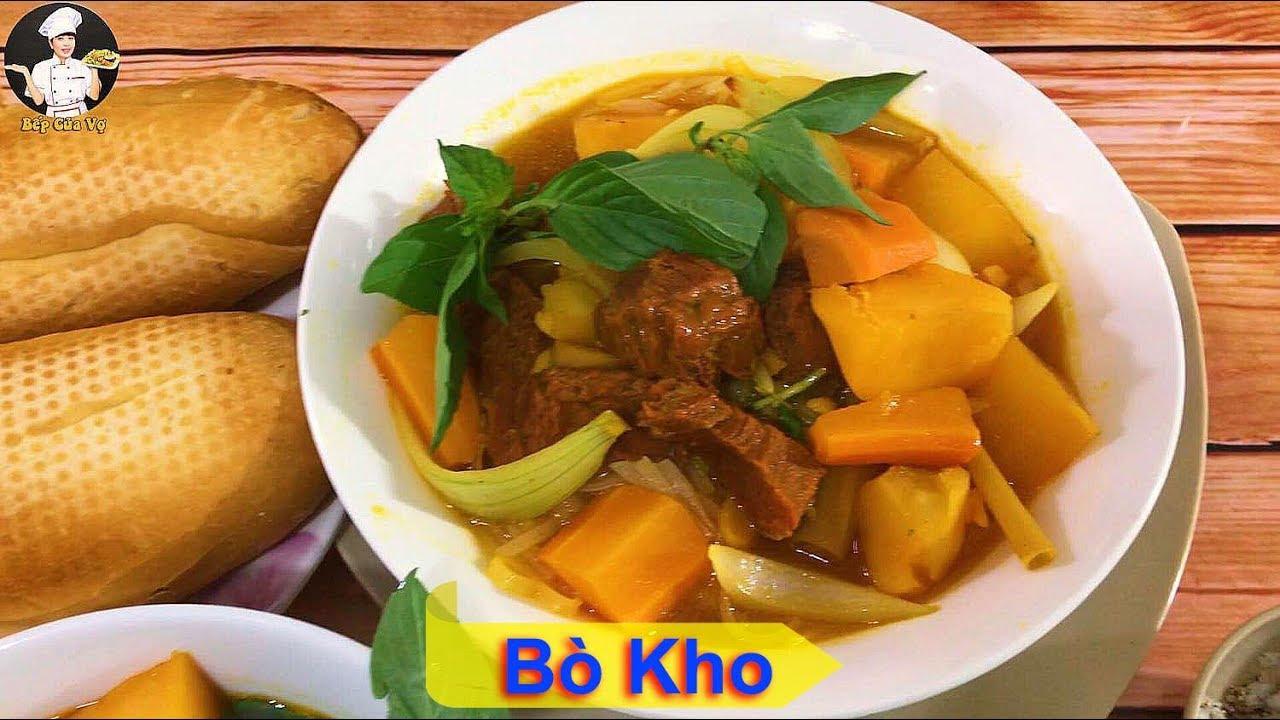 BÒ KHO | Cách nấu bò kho đơn giản ngon miệng | Bếp Của Vợ