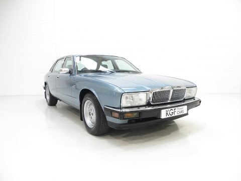 An Exceptional Jaguar XJ40 Sovereign Preserved with an Incredible 9,399 Miles - SOLD!