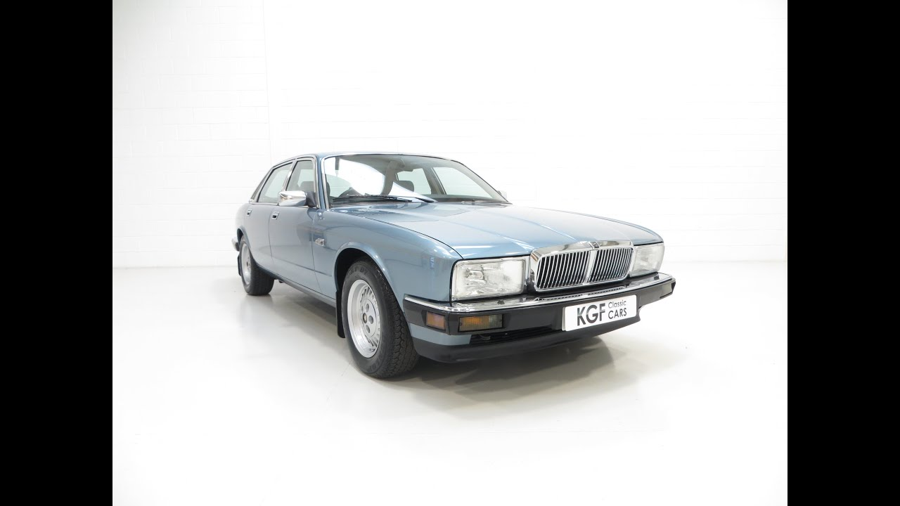 An Exceptional Jaguar XJ40 Sovereign Preserved with an