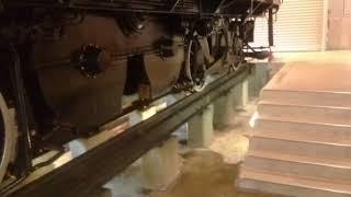 碓氷峠鉄道文化むら アプト式電気機関車ED42の展示