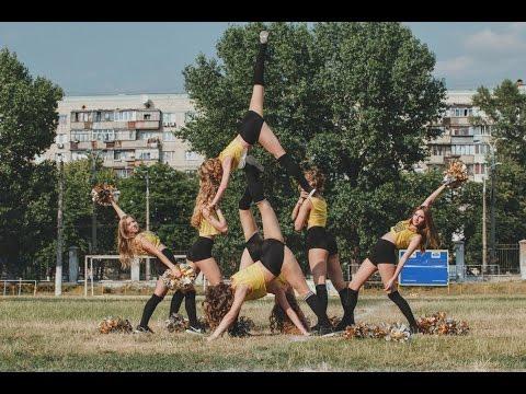 Slavs Girls. HALFTIME SHOW. Slavs Kiev Vs Wolves Vinnytsia 03/07/2016