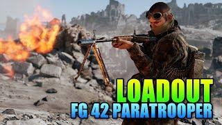 Loadout FG 42 German Paratrooper   Battlefield 5 Support Gameplay