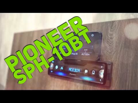 pioneer sph 10bt smartphone stereo head unit overview youtube. Black Bedroom Furniture Sets. Home Design Ideas