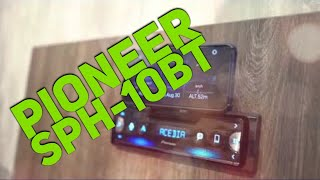 Pioneer SPH-10BT Smartphone Stereo Head Unit Overview
