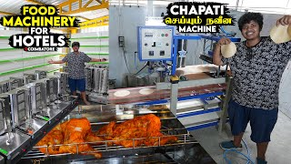 Food Machinery Tour - Chapathi seyyum Naveena Machine -Lakshmi Food Machinery, Coimbatore