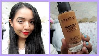 REVIEW ♡ Smashbox Studio Skin Foundation Thumbnail