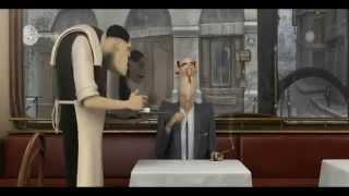 ~French Roast~ Nominado al Oscar 2010 corto Pixar
