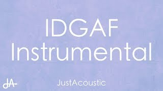 Idgaf Dua Lipa Acoustic Instrumental.mp3