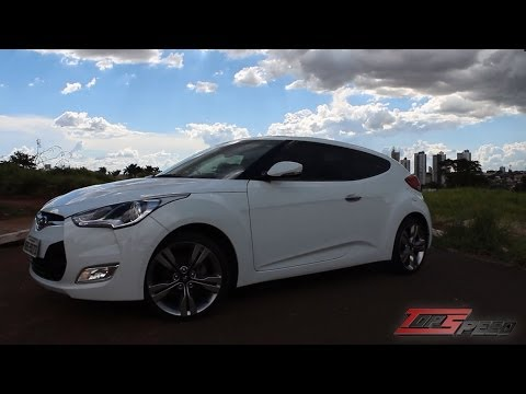 Avalia o Hyundai Veloster Canal Top Speed