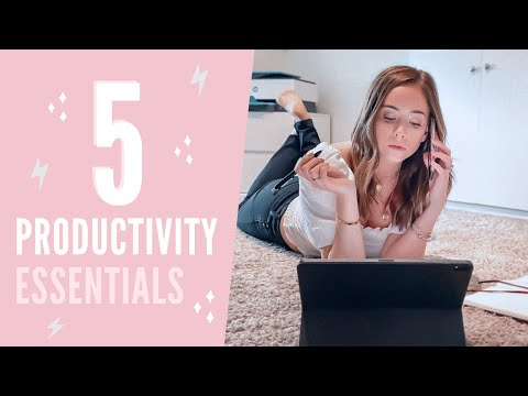 5 Essential Items for Productive Work at Home
