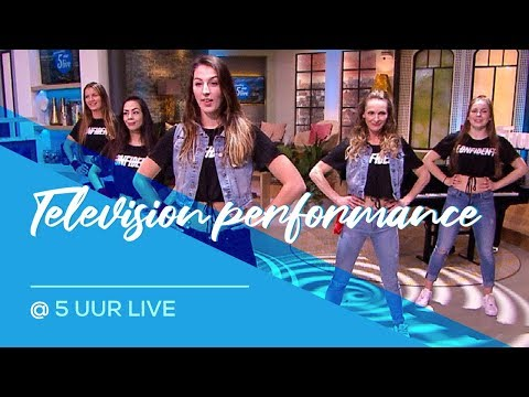 5 Uur  - RTL4 -  Taki Taki - Dura - Sin Pijama -  Television Dance
