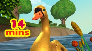 A Goose with Golden Feathers Folk Story   Bengali Stories for Kids   Infobells