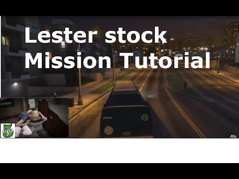 GTA V Storymode- all 5 Lester mission stock market Glitch Tutorial