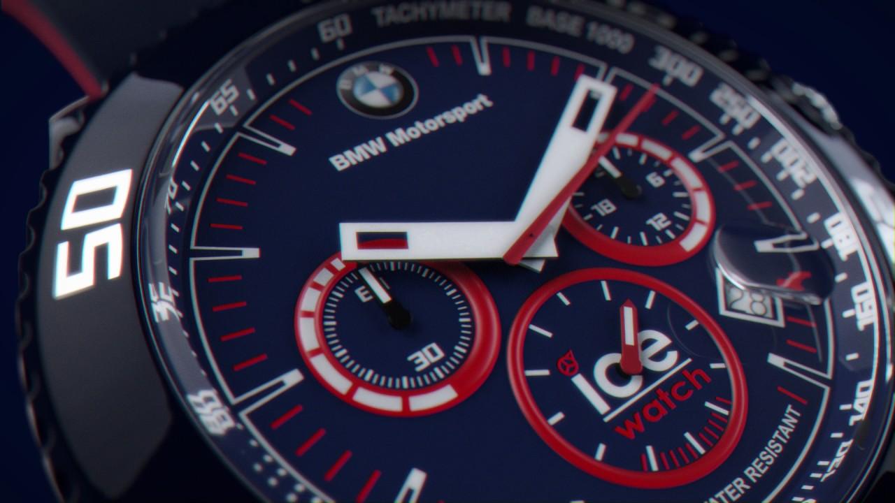 0246b8d0f6a Relógios Ice-Watch BMW Motorsport - YouTube