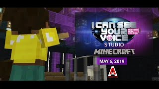 Gambar cover Teaser: I Can See Your Voice Studio in Minecraft