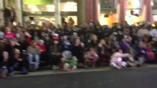 2012 Hollywood Christmas Parade View from inside Highway Pa