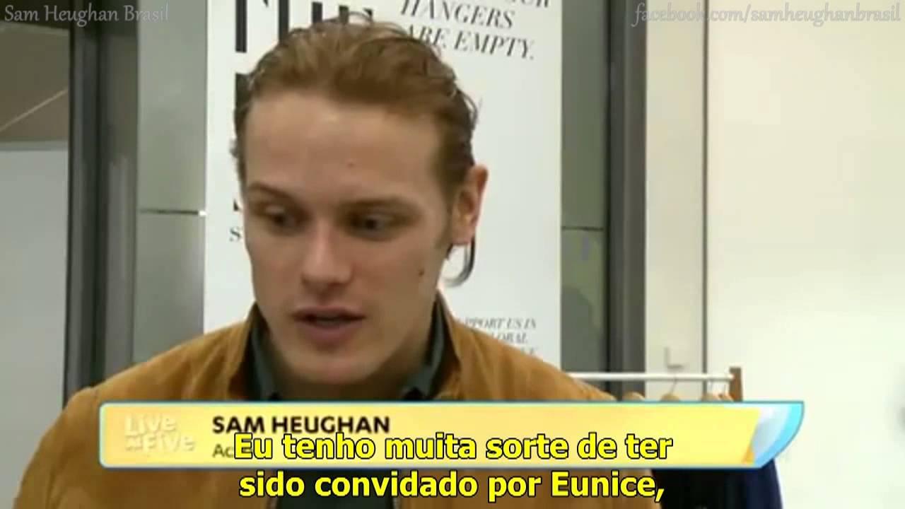 Sam Heughan - The Empty Shop e segunda temporada de Outlander [LEGENDADO]