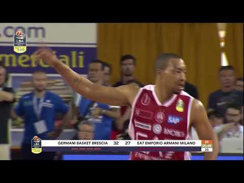 HIGHLIGHTS / Germani Basket Brescia - EA7 Emporio Armani Milano 88-85