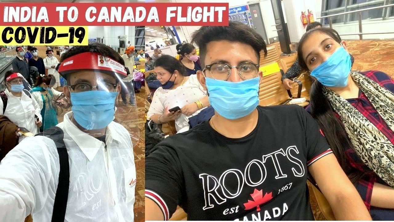 India To Canada Flight Experience | Air India Flight to Canada | Vande Bharat | Delhi to Toronto